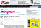 Entertainment Weekly: PopWatch