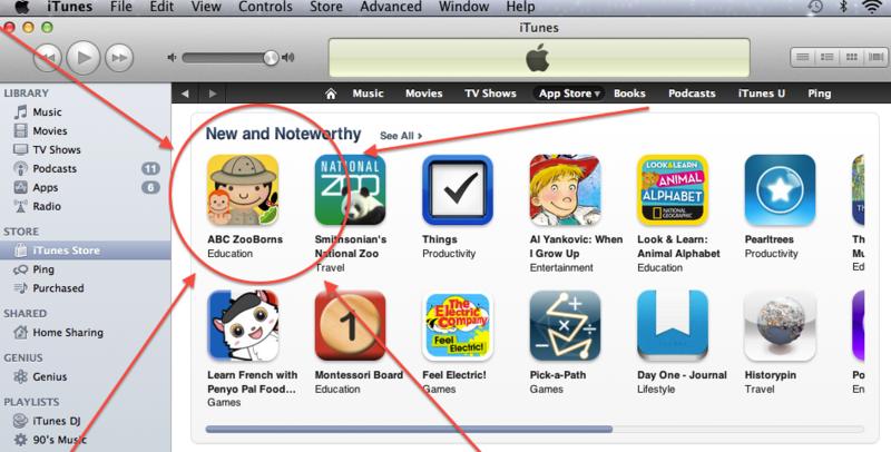 ZooBorns App #1